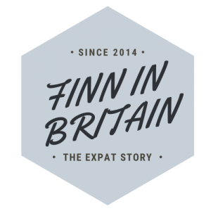 Finn In Britain, Expat life in UK